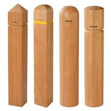 Wood Bollards
