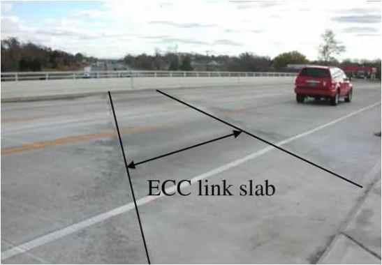 ECC link slab