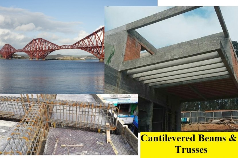 Cantilevered Beams and Trusses- Uses and Advantages