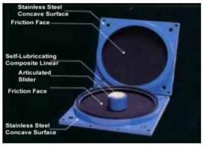 Technical Details of a Friction Pendulum Bearing