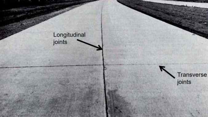 Longitudinal and Transverse Joints in Pavement