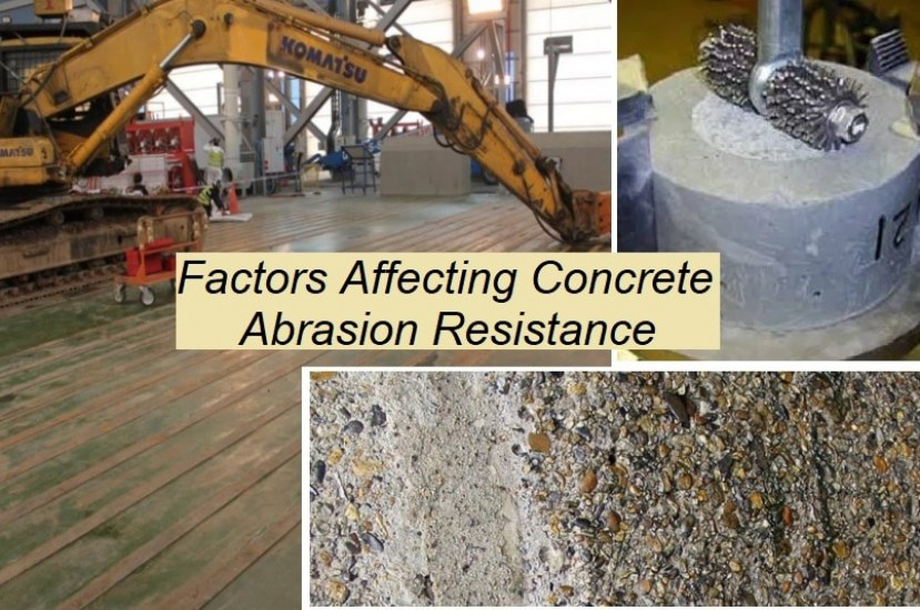 7 Factors Affecting Abrasion Resistance of Concrete Surface