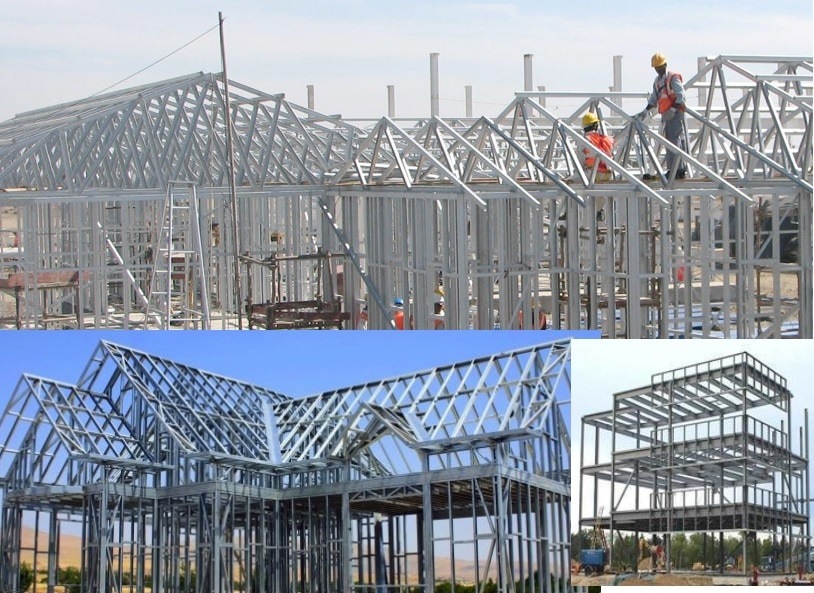 Light Gauge Steel Frame Building Construction