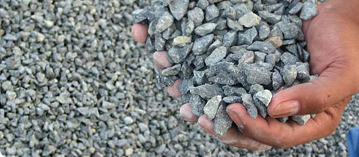 Aggregate used in the concrete