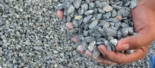Aggregate used in the concrete