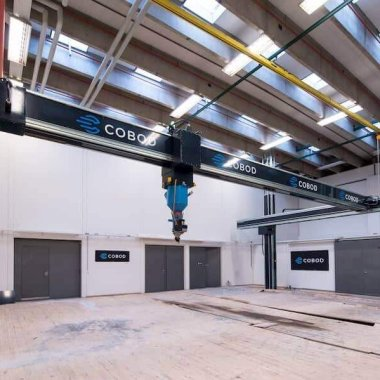 COBOD BOD2 3D House Printer - Gantry Type; Developed by Printhuset Company , Denmark