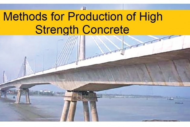 Methods for Production of High-Strength Concrete [PDF]