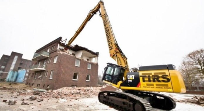 Demolition of building