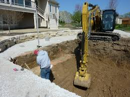 Excavation for Swimming Pool Construction