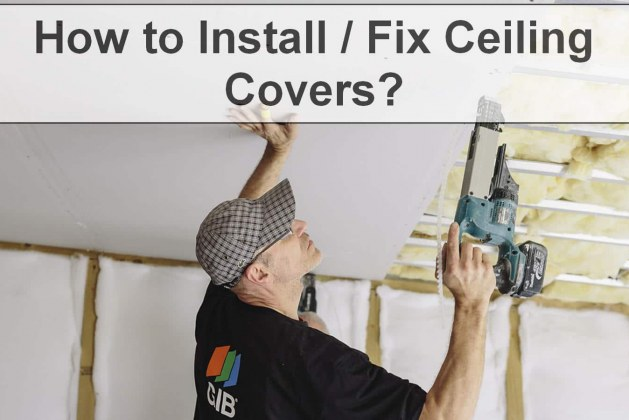 How to Install/Fix Ceiling Covers? [PDF]