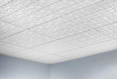 Plaster of Paris Tiles Ceiling