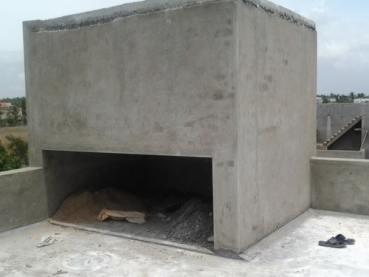 Terrace Water Storage Tank