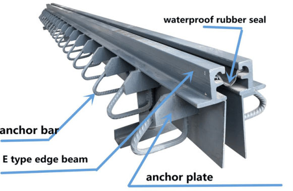Strip Seal Expansion Joint Components