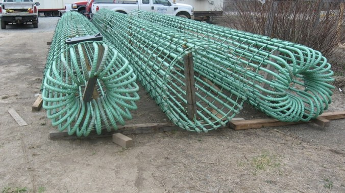 Epoxy Coated Reinforcement - Image Courtesy - Harris Supply Solutions