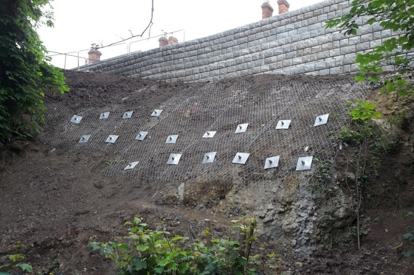 Slope Stabilization Methods: Classification and Construction