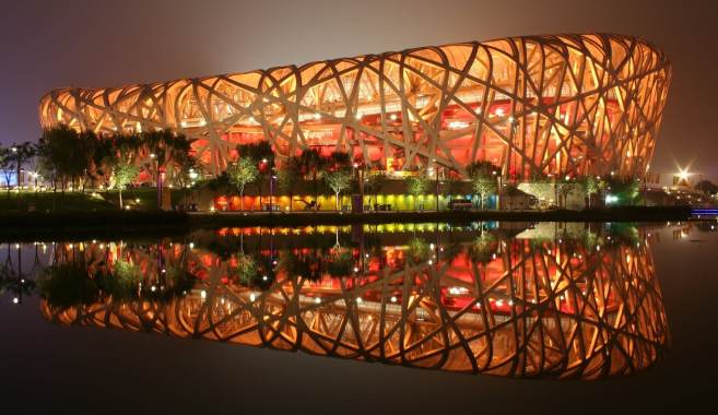 Beijing National Stadium used specialist parametric modeling software