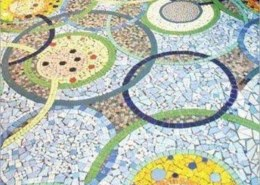 What is China mosaic? What is benefit of China mosaic?
