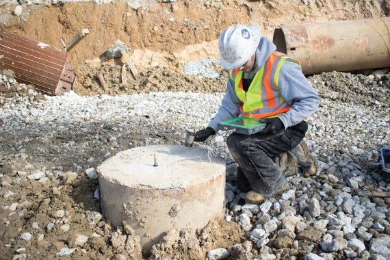 Low Strain Integrity Testing (PIT); Image Courtesy: GRL Engineers. inc