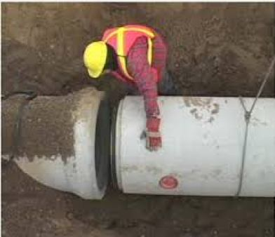 Connecting Concrete Pipes