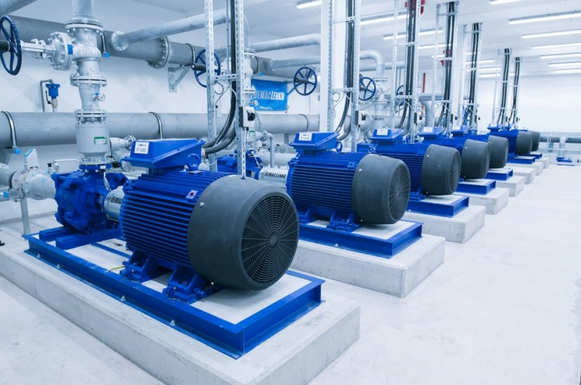 Pumping Stations in a Water Distribution System