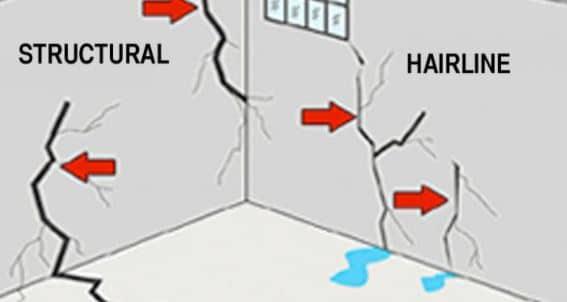 Cracks on Foundation Wall