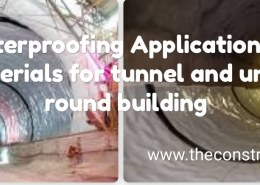 What is the best waterproofing application and materials in tunnel construction or even buildings below the ground?