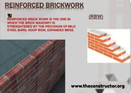 What is Reinforced Brick Masonry?