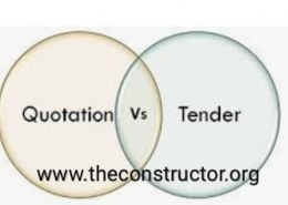 What is the difference between Tender and Quotation?