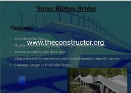 What is Stress Ribbon Bridge?
