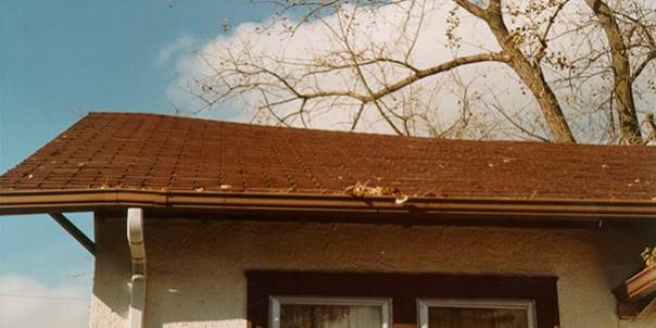 Improper Design of Roof