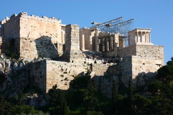 Main entrance gate of Acropolis