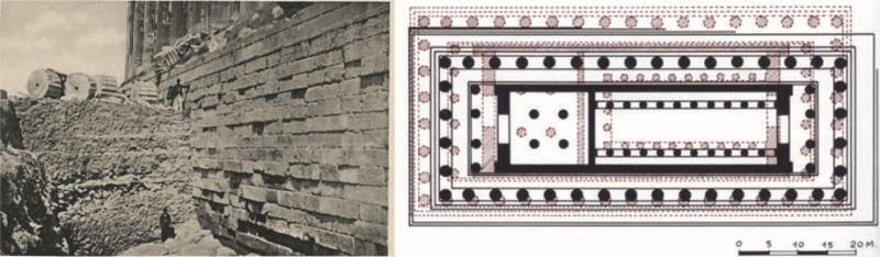Foundation of the Parthenon