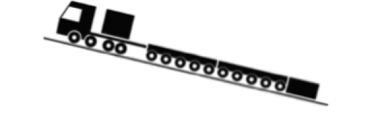 Power booster mode in incline direction