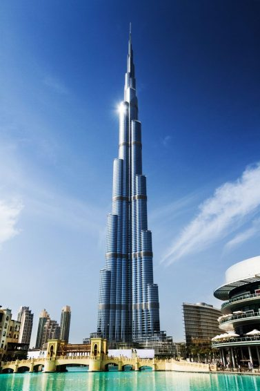 Burj Khalifa Tower picture during day time