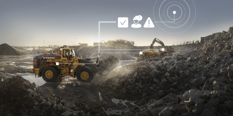 Application of Telematics in Construction