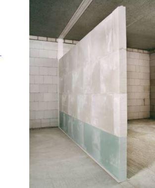 Gypsum Non-Load Bearing Partition Walls
