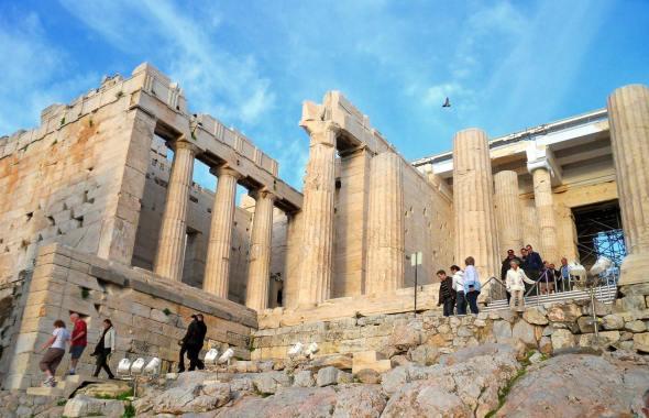 Foundation of the Propylaea