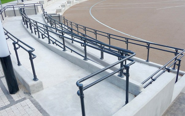 Ramps with Handrails