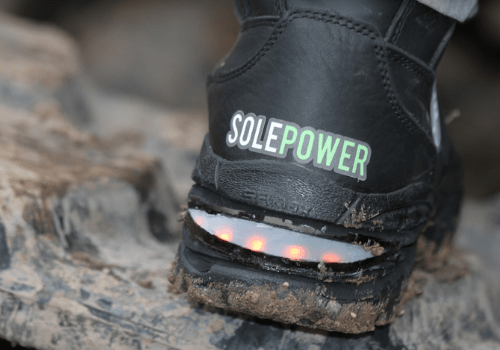 Smart Work Boots for Construction Sites