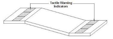 Tactile Warning Indicator for Ramps