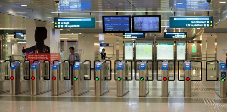 Fare collection system of Delhi metro