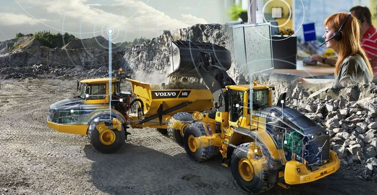 Use of Telematics in Construction Equipment