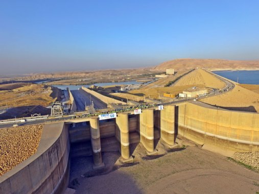 A dam which can cause the loss of more than 500,000 lives if fails