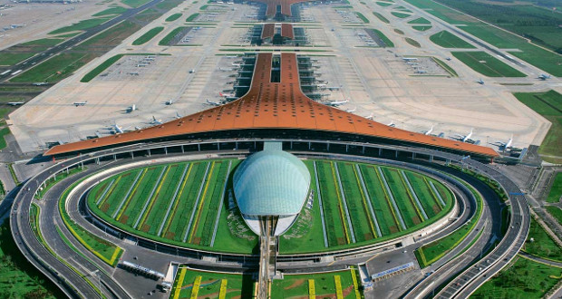 The Beijing Capital Airport, which ranked second for five consecutives times