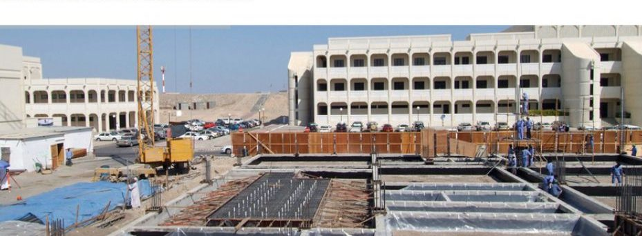 Civil engineering projects-related testing facility in UAE