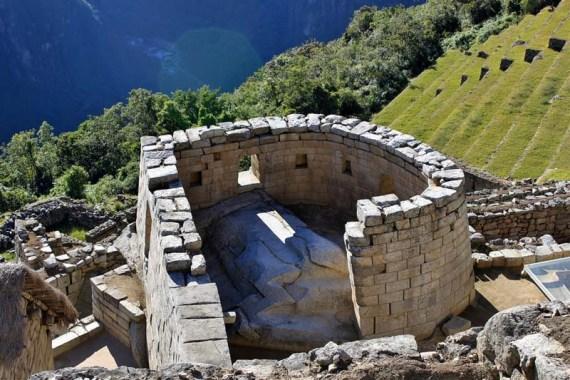 Upper urban area of Machu Picchu