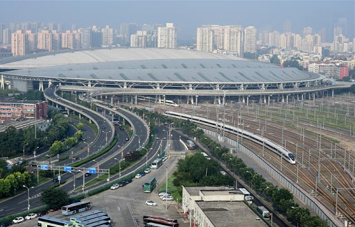 Beijing-Shanghai high-speed railway project adopts independent innovation of high-speed railway technology