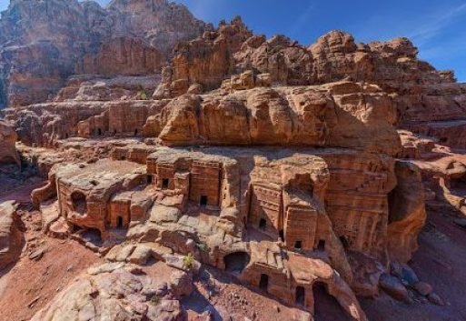 Rock-cut monuments of Petra