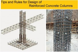 Tips and Rules for Design of Reinforced Concrete Columns