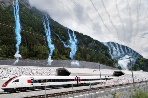 Gotthard Base Tunnel: Construction Features of the World's Longest Tunnel